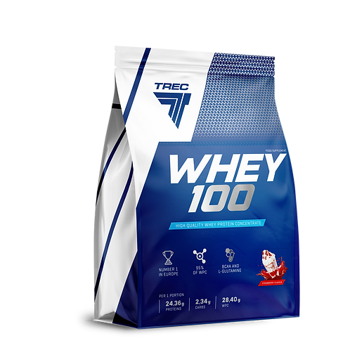 WHEY PROTEIN 100 2275g STRAWBERRY