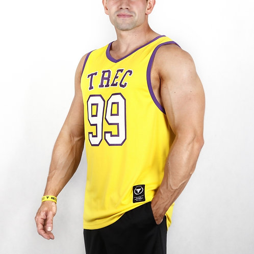 TREC WEAR - TANK TOP JERSEY YELLOW