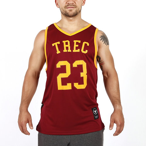 TREC WEAR - TANK TOP JERSEY 009 MAROON