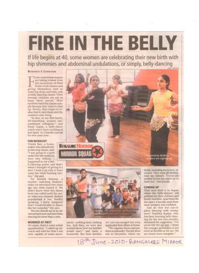 Bangalore Mirror 2012