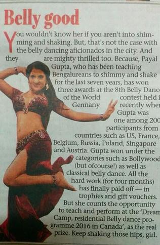 Bangalore Mirror 2015