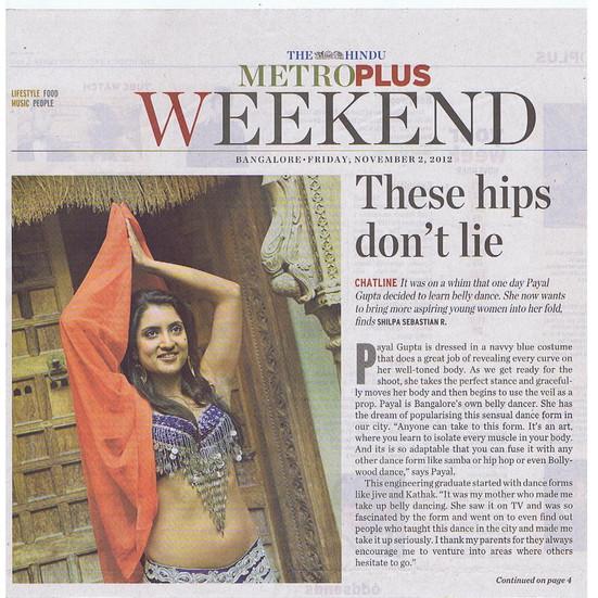 The Hindu, Bangalore 2013