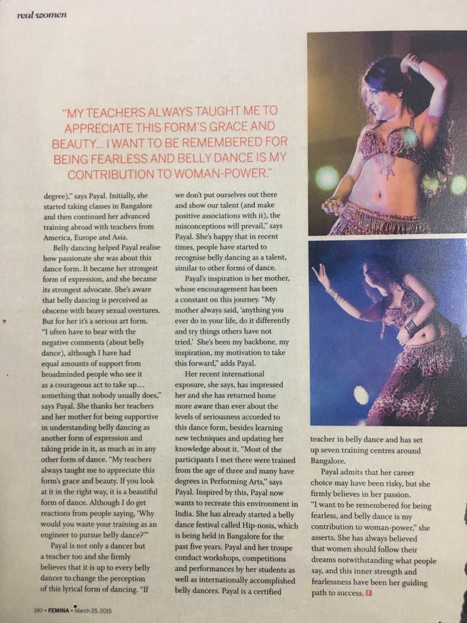 Femina Magazine 2015