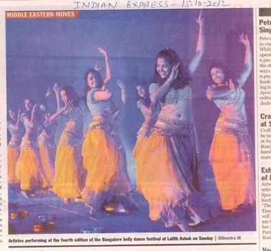 Indian Express Bangalore 2012