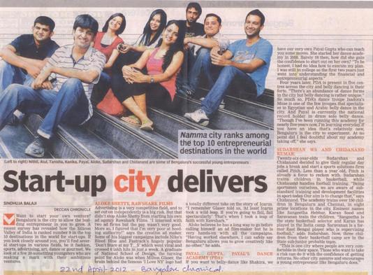 Deccan Herald Bangalore 2012