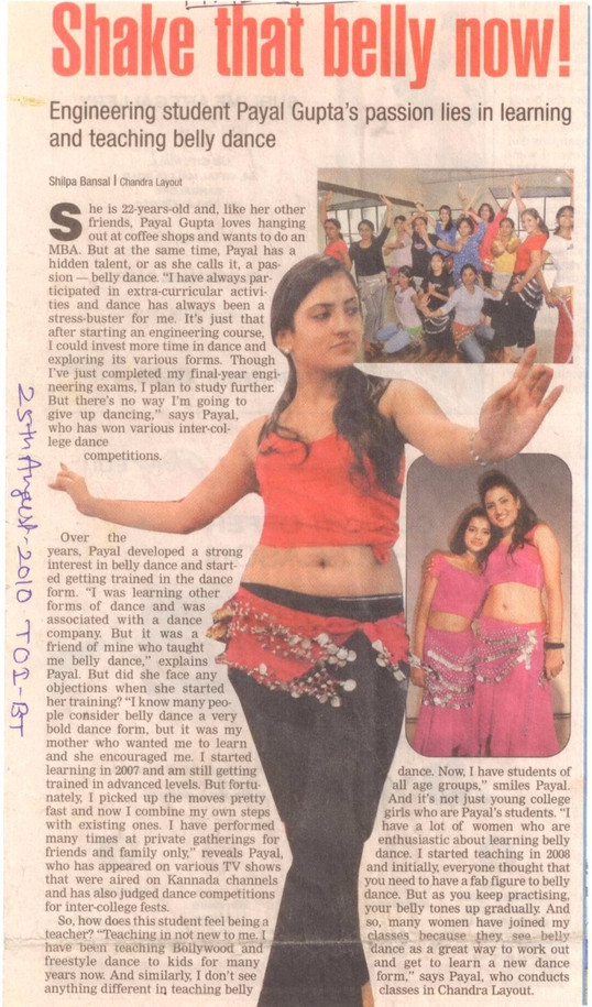 Bangalore times 2010