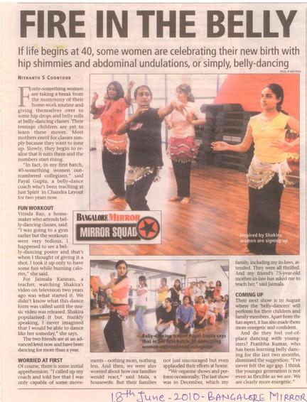 Bangalore Mirror 2011
