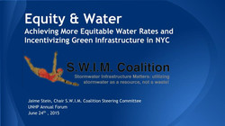 Equitable Water Rates for NYC