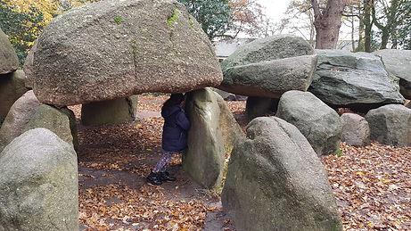 Balanceren met stenen