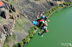 Jumping over the Snake River