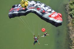 Parachutes change lives