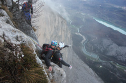 A first in BASE jump history for Italy