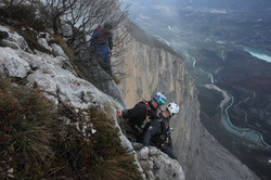 Living on the edge for a BASE jump