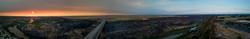 Beautiful Panoramic Photo of the Perrine Bridge