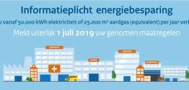 Vóór 1 juli 2019 voldoen aan informatieplicht