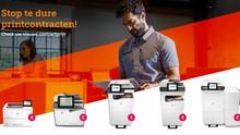 Nieuw aanbod printers: doe de printcheck!