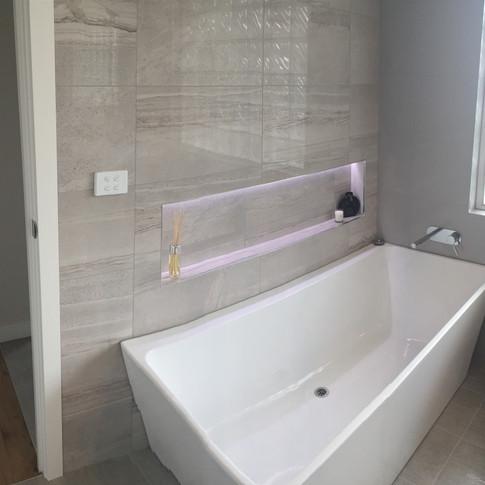 modern bathroom redesign