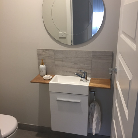 Powder room redesign
