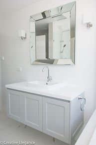 provincial bathroom design, interior design Hawthorn East, project management Hawthorn East, shaker cabinetry