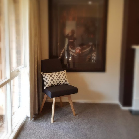feature occasional chair