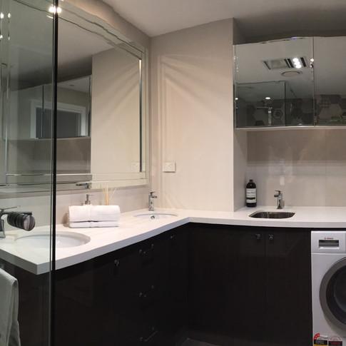 bathroom / laundry redesign