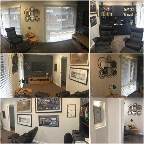 New Space - Home office / TV room