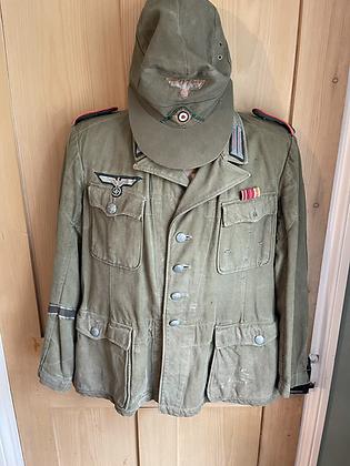 Ww2 German tropical Africa korps jacket