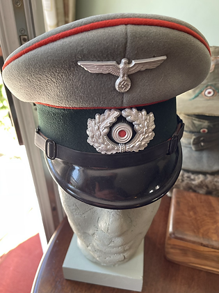 German ww2 artillery cap genuine