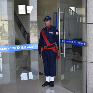 A Guard at PARCO