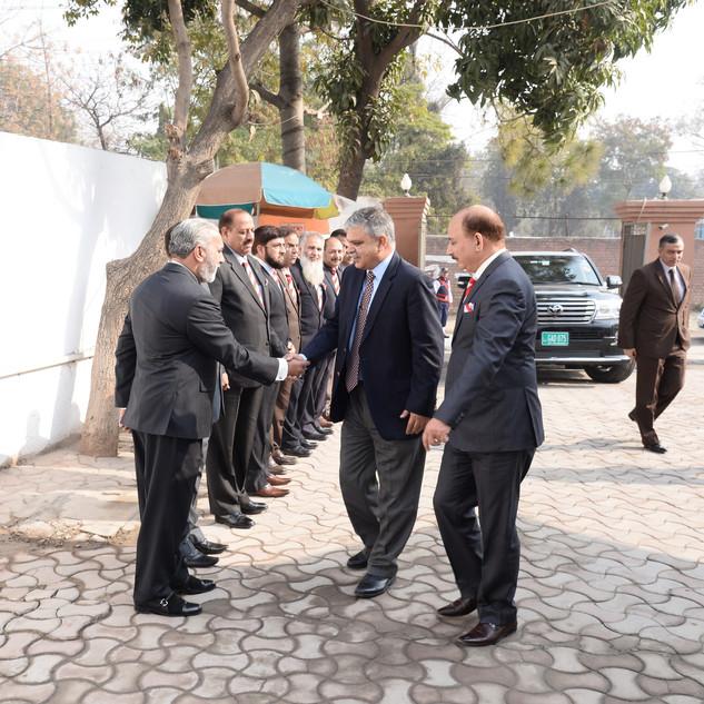 Lt Gen Najib Ullah Khan HI (M) MD AWT On His First Visit to FSS