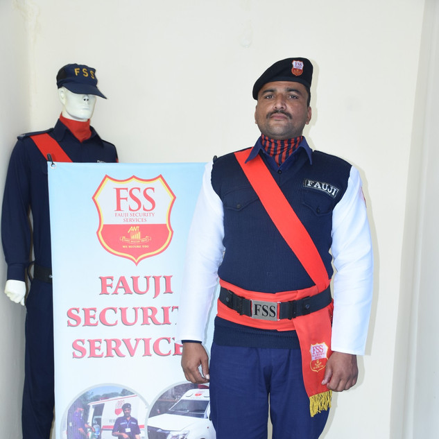 A Guard at Head Office