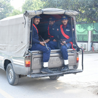 A Mobile Squad in Islamabad