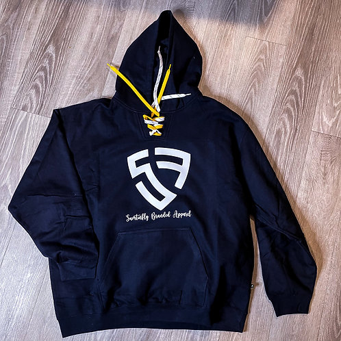 Face Off 2 Lace Hoodie/w Shielded SF Logo