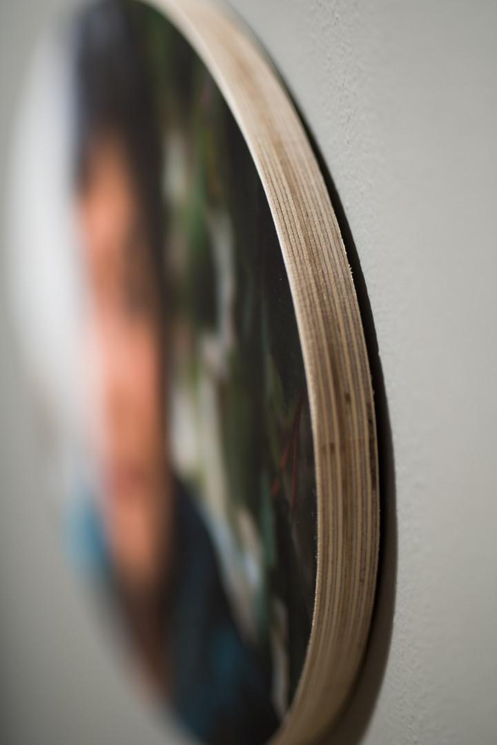 Heirloom Wood Print - Oval