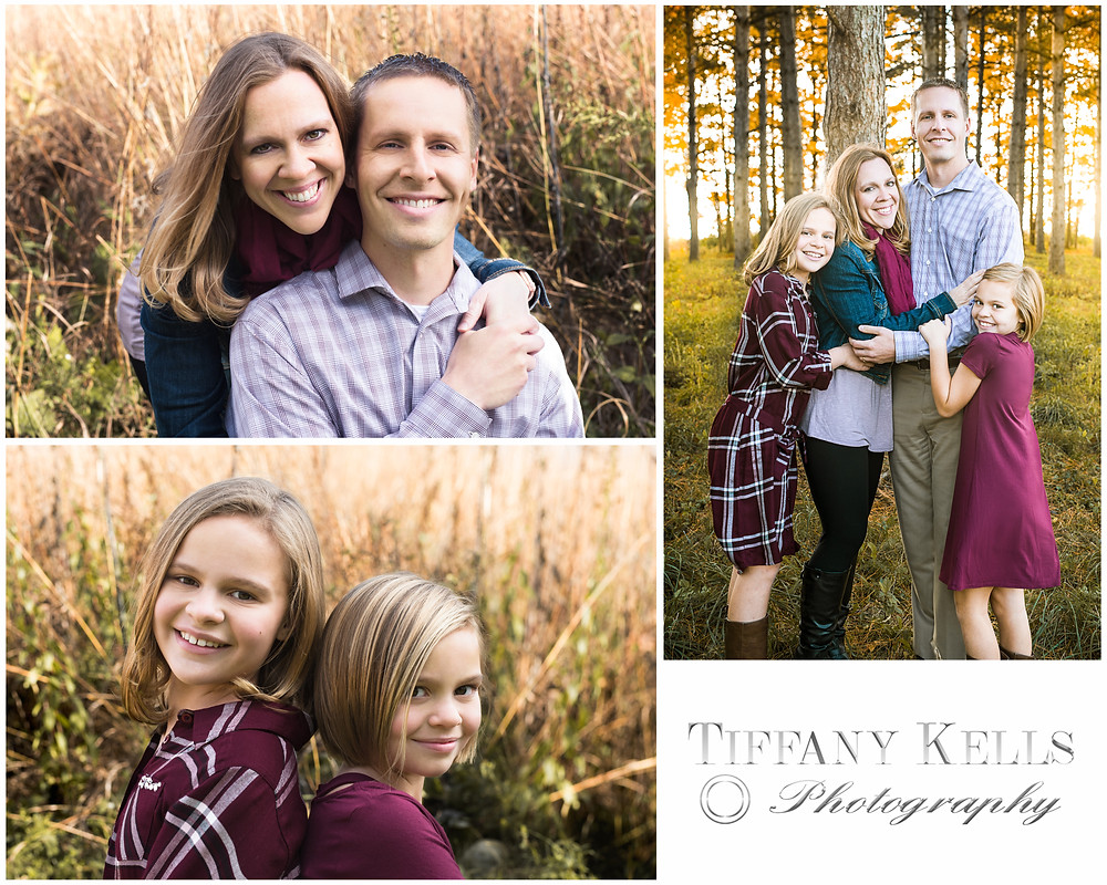 Family Portrait session with Tiffany Kells Photography in Waukesha WI