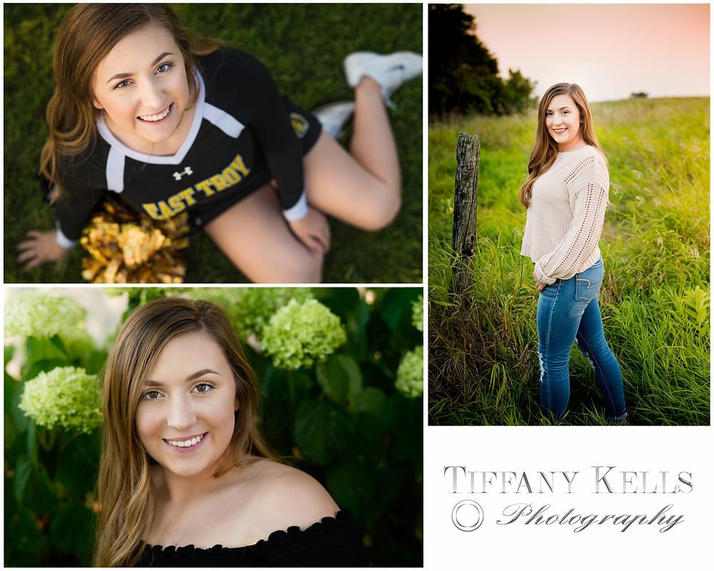 Senior Portraits High School Girl Smiling
