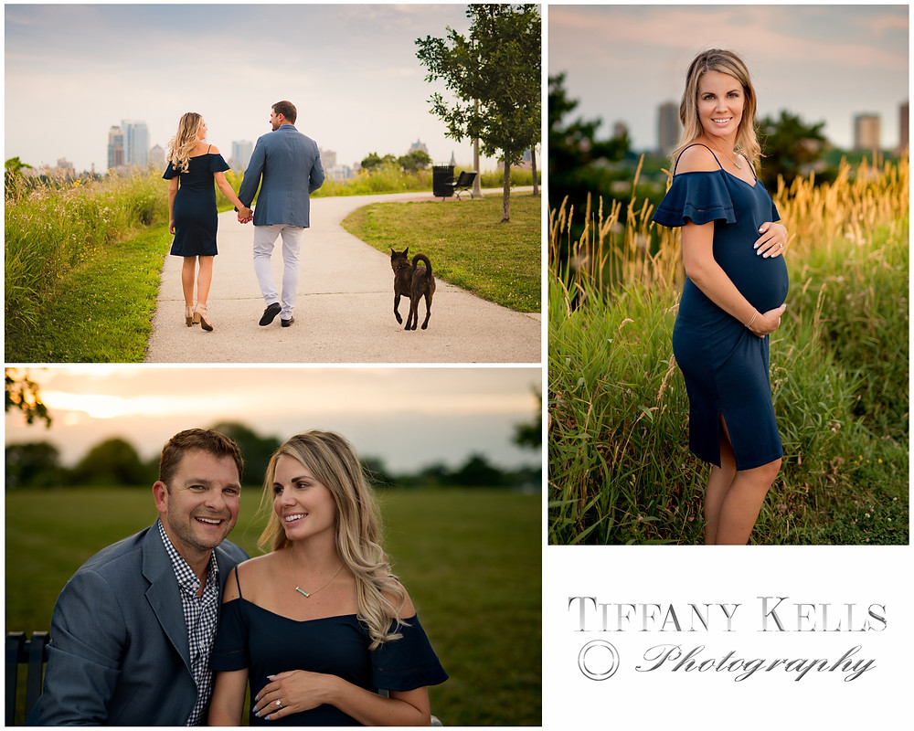 Maternity Session Kadish Park Milwaukee Wisconsin