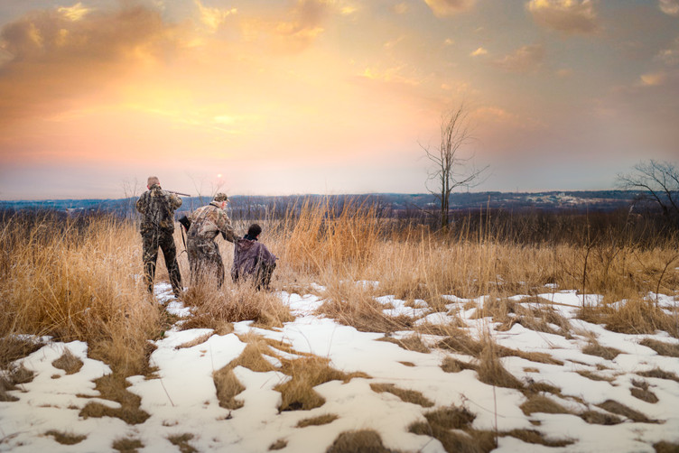 Hunters at Vernon Marsh