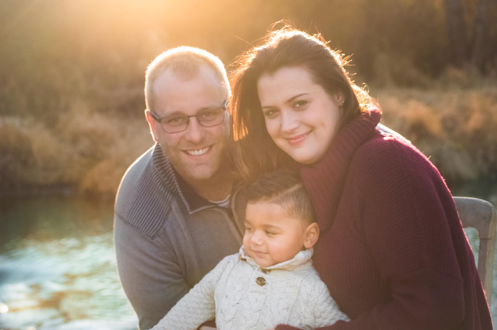 Family Portrait of 3