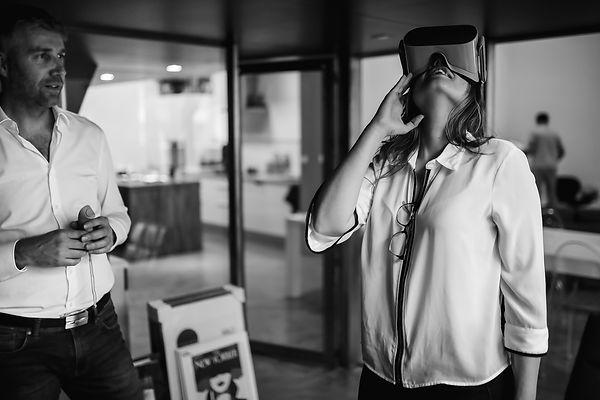 Mariage réalité virtuelle réalité augmen