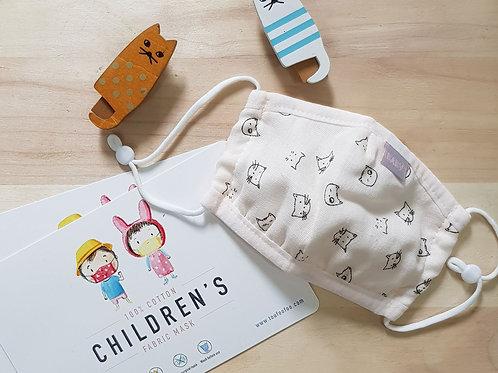 CHILDREN FACE MASK - Catto (reusable)