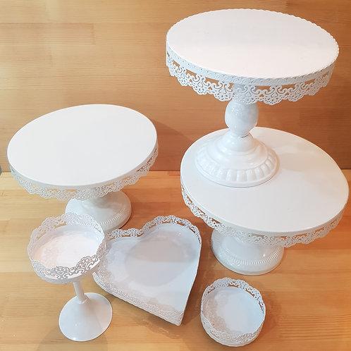 [Rental] Set of 6 Dessert Trays