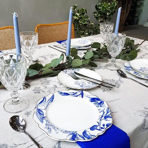 Tablescape Style Set - EUCALYPTUS CHARM (Rental)