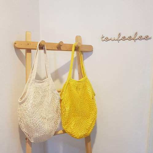 WOVEN GROCERY TOTE BAG