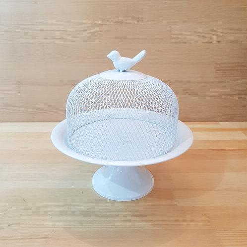 White Birdie Dessert Tray