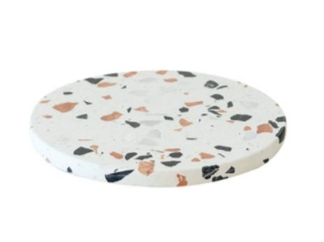 [Rental] Terrazzo Round Cake Plate