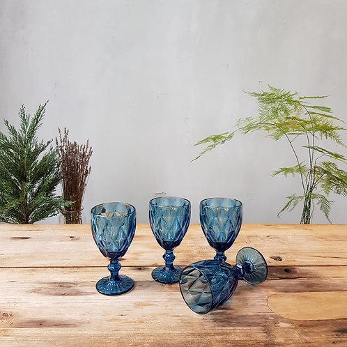 Glass Goblets (Set of 8)