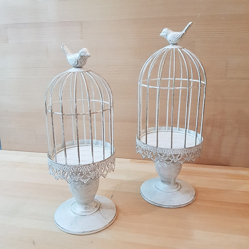 Rustic Birdie Cages