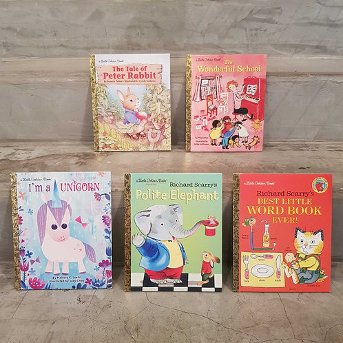 BOOK - a Little Golden Book (various titles)