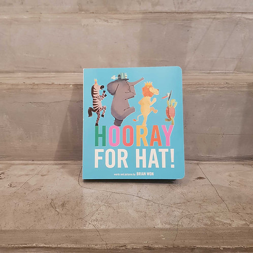 BOOK - HOORAY FOR HAT!